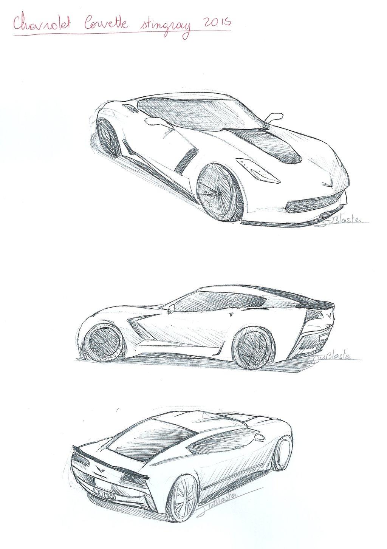 1024x1453 chevrolet corvette stingay 2015 by jublaster on deviantart