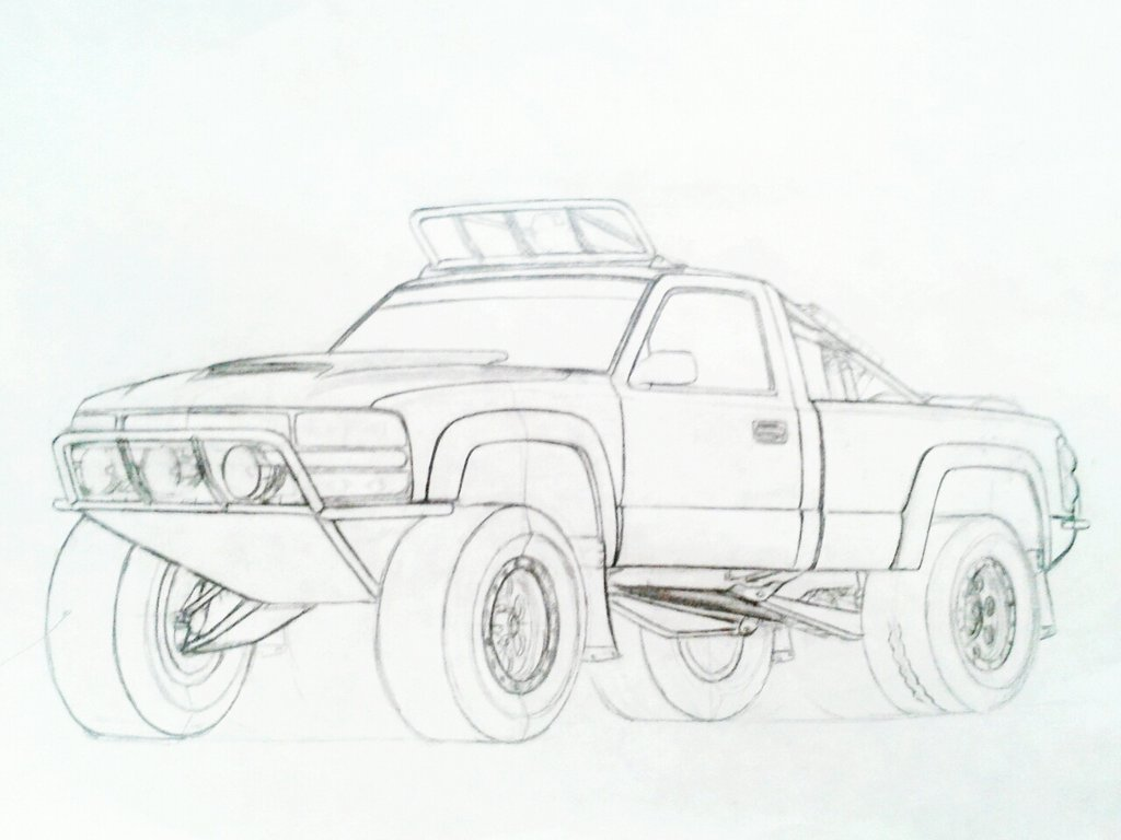 1024x768 classic chevy truck coloring pages