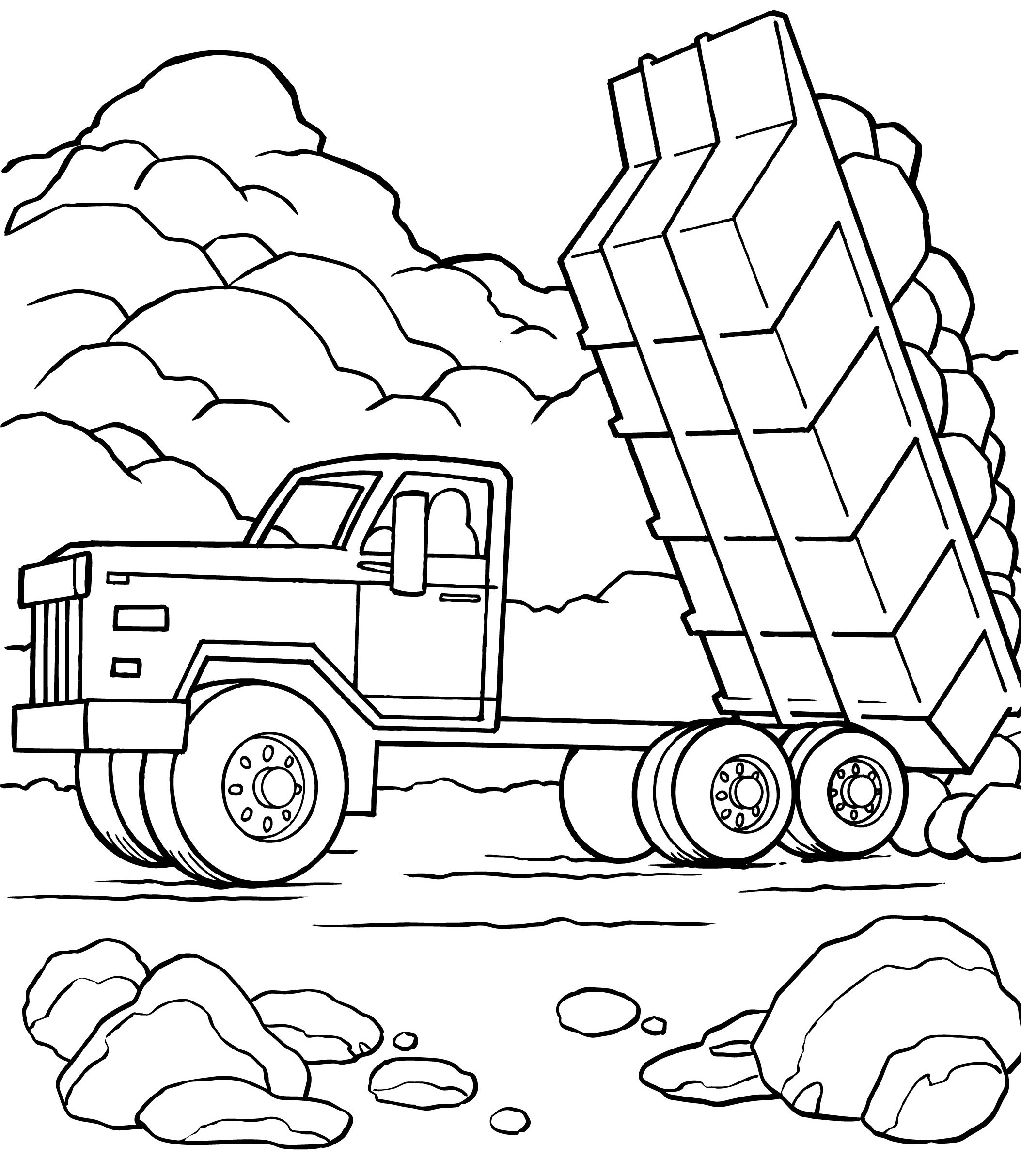 2107x2426 old chevy truck coloring pages free draw to color