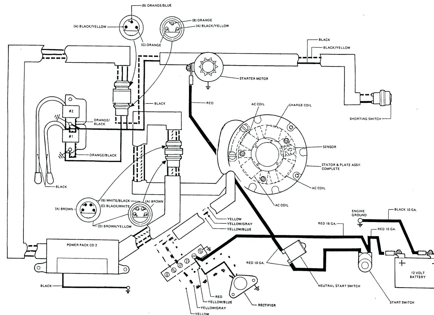 1440x1044 25 hp kohler engine wiring diagram with notes ignition electrical