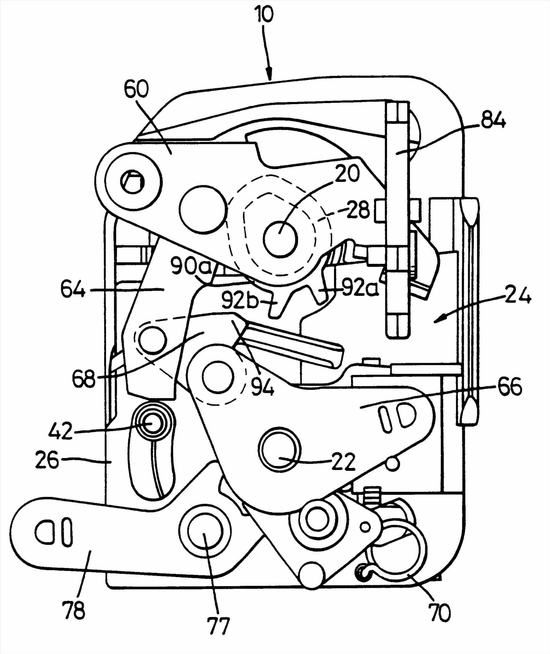 1900x2259 assembly patents porsche boxster lock mechanism handle
