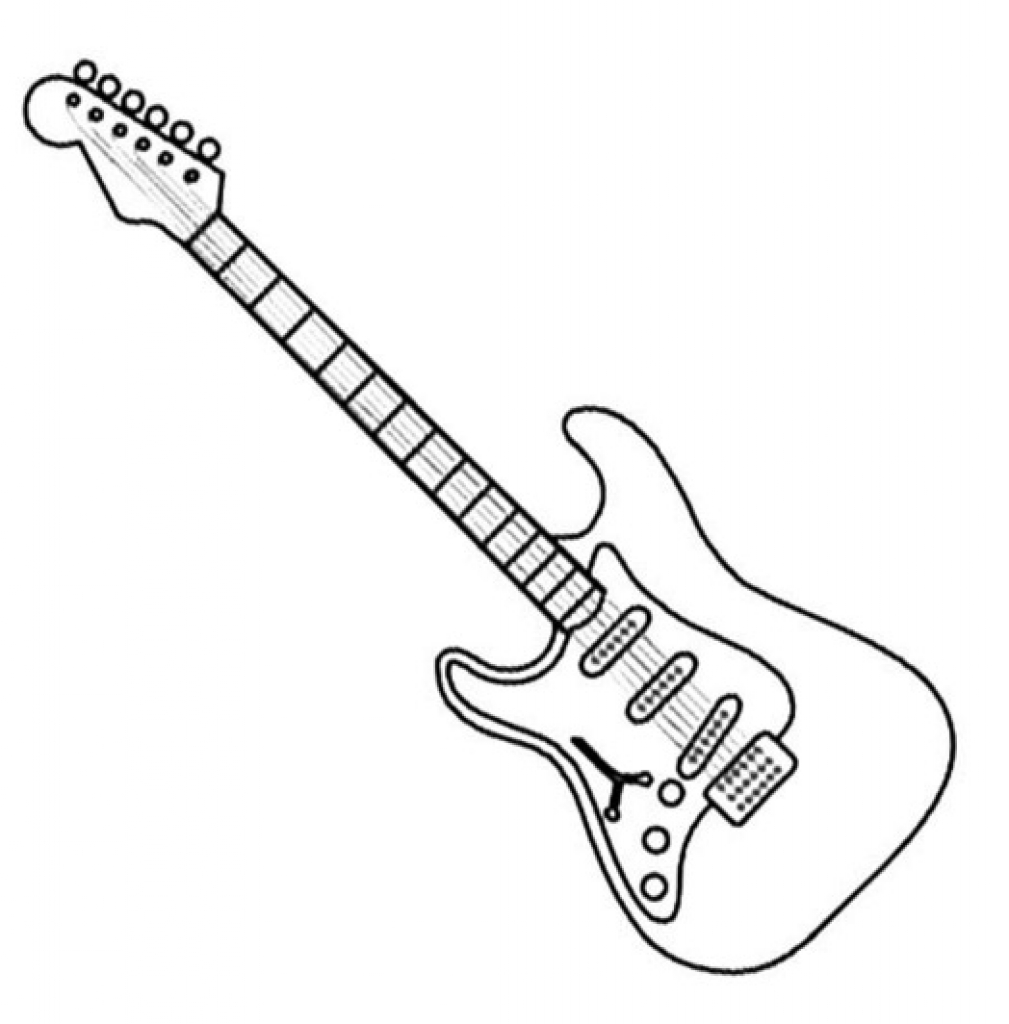 Electric guitar outline drawing at getdrawings free for electric guitar outline drawing 40 electric guitar outline