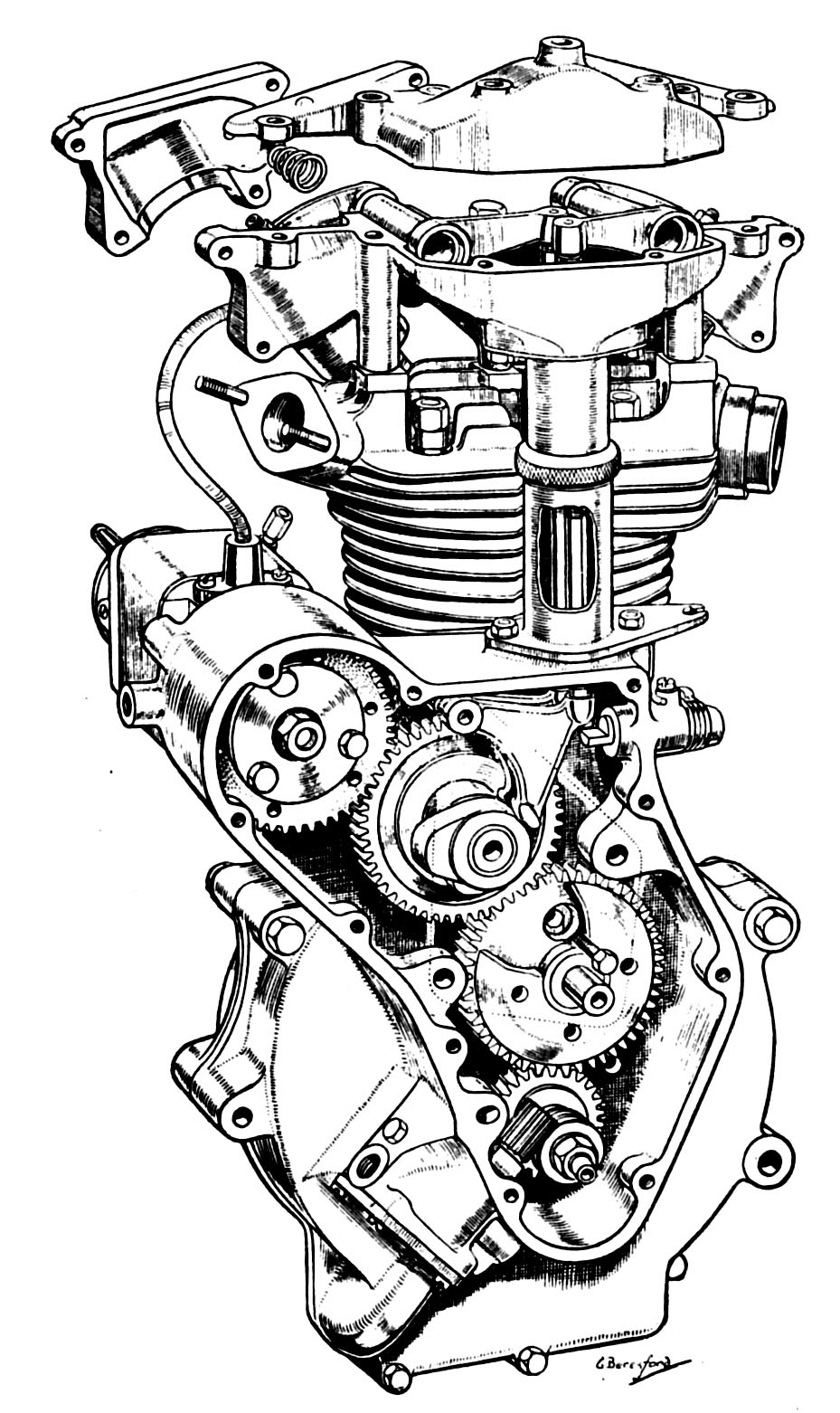 Engine drawing at getdrawings free for personal use engine