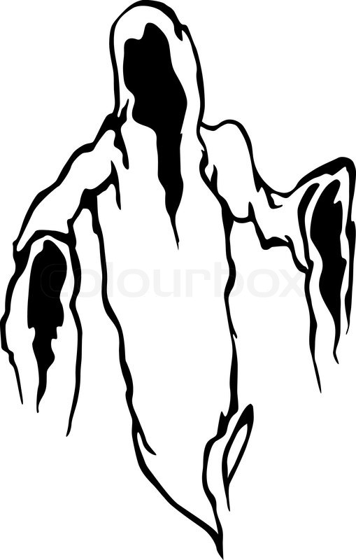 Casper Friendly Ghost Coloring Pages