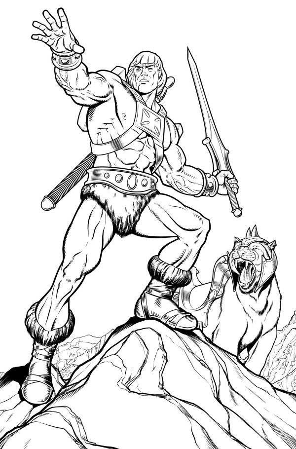 he man coloring pages # 18
