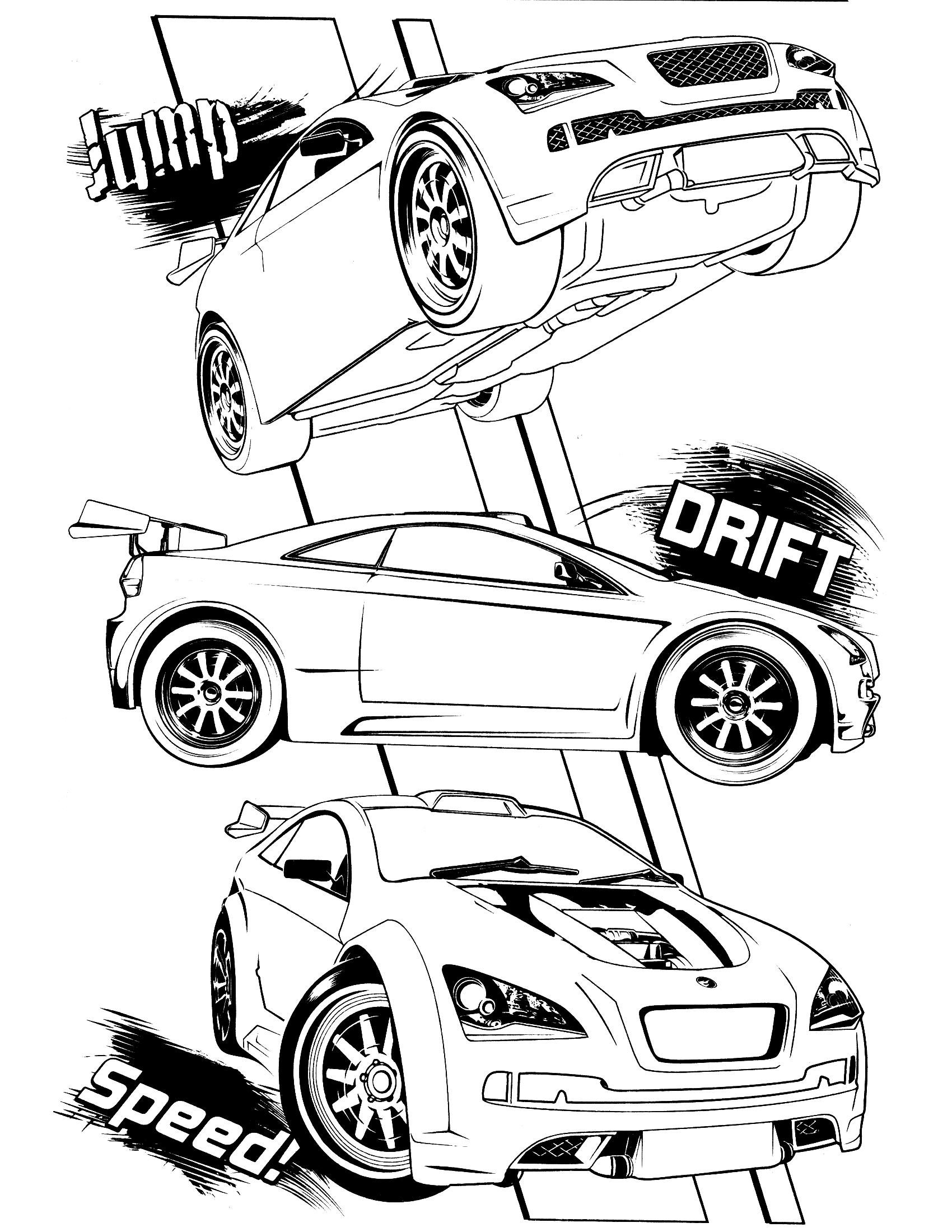 1700x2200 hot wheels coloring page Ìàäè pinterest
