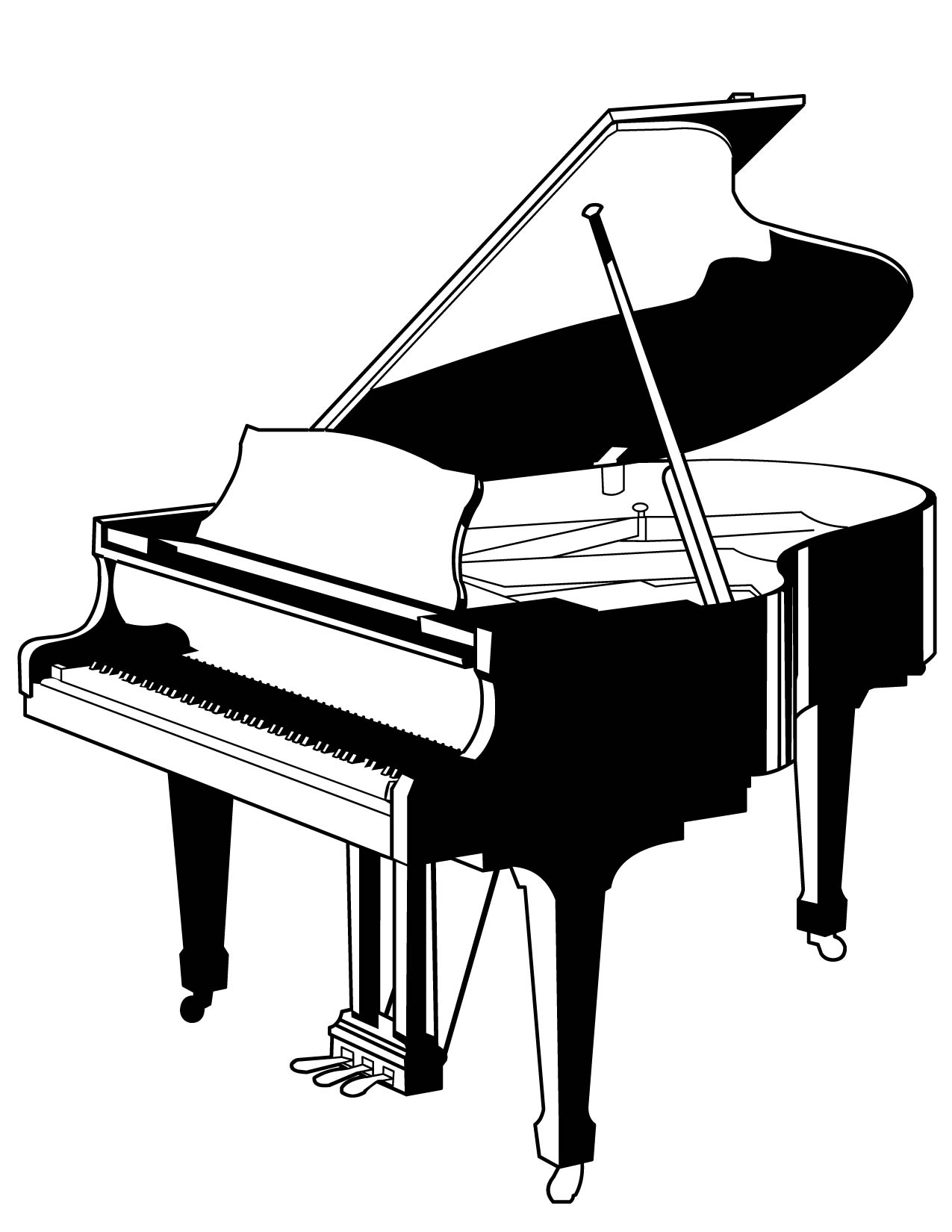 Contemporary piano diagram photo wiring diagram ideas blogitia