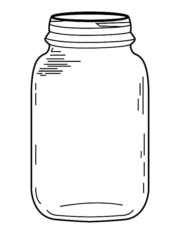 Bug Jar Template Printable