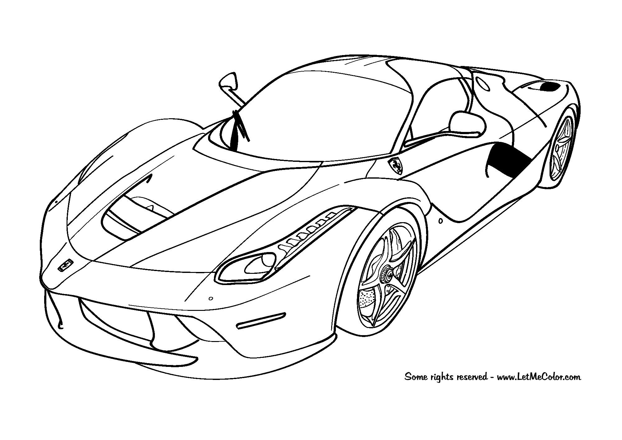 2000x1414 ferrari car coloring pages elegant mercedes benz coloring pages