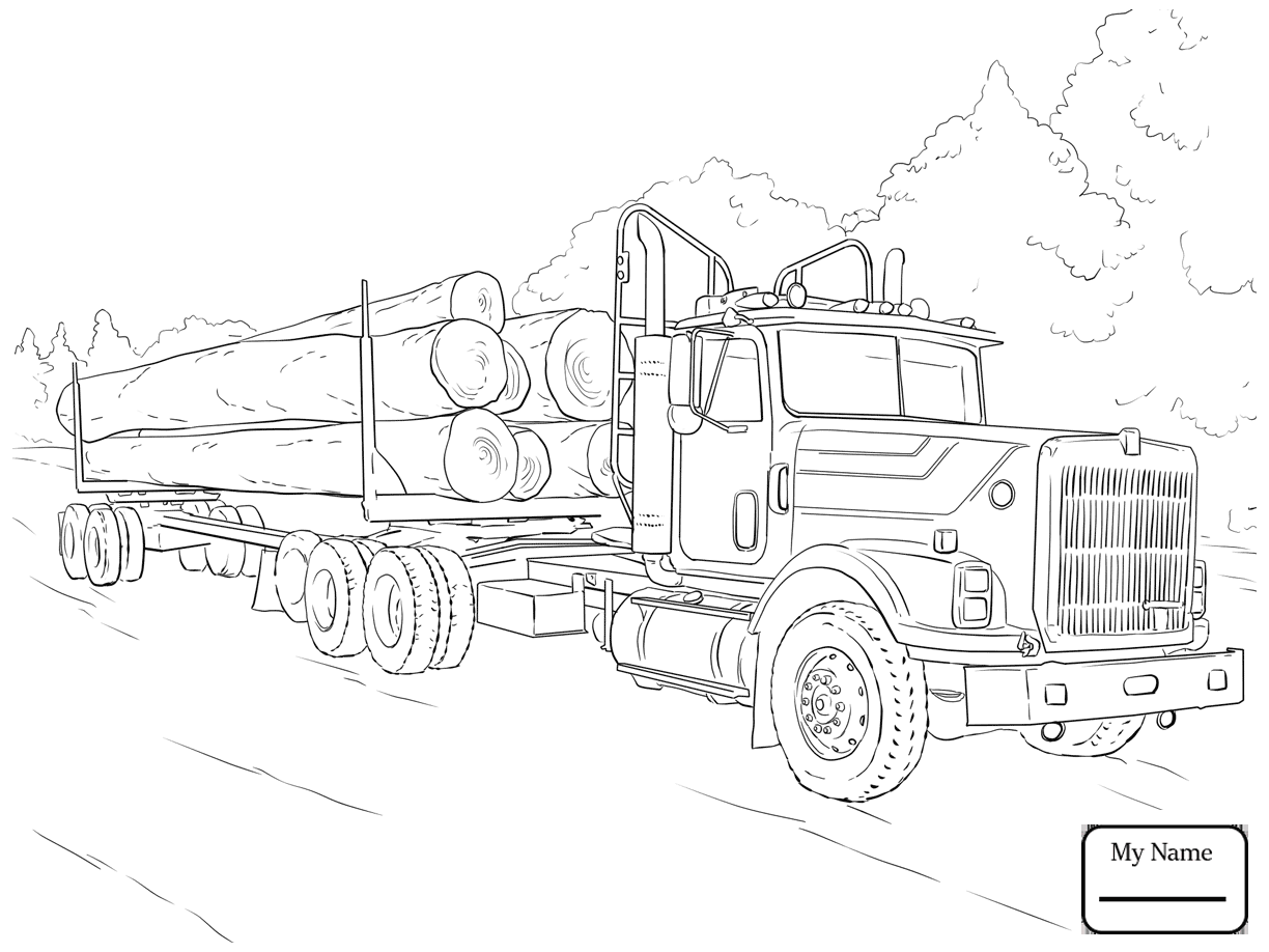1224x918 transport mercedes benz truck trucks coloring pages for kids
