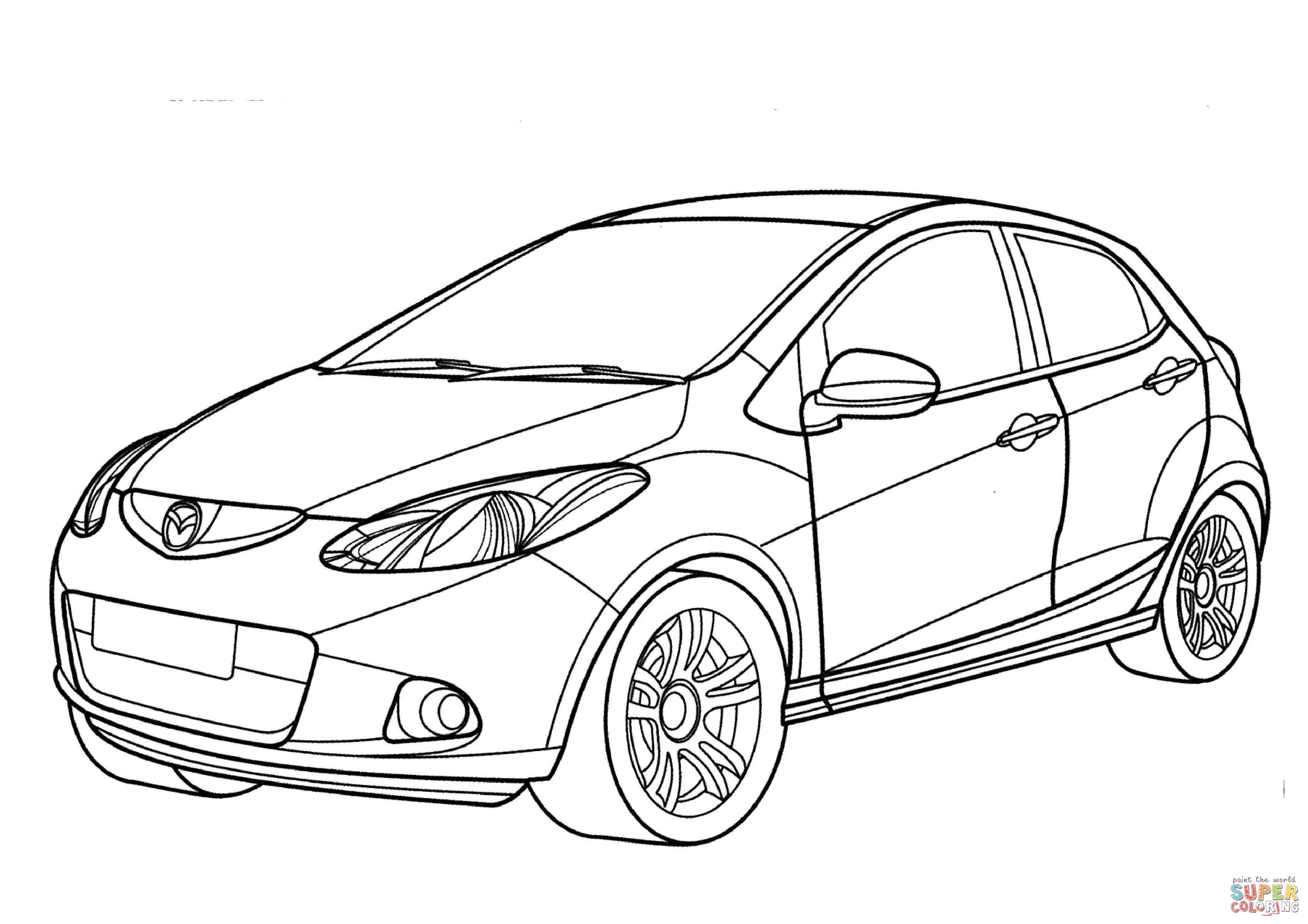 3508x2480 minivan coloring page nissan cure minivan coloring page nissan to