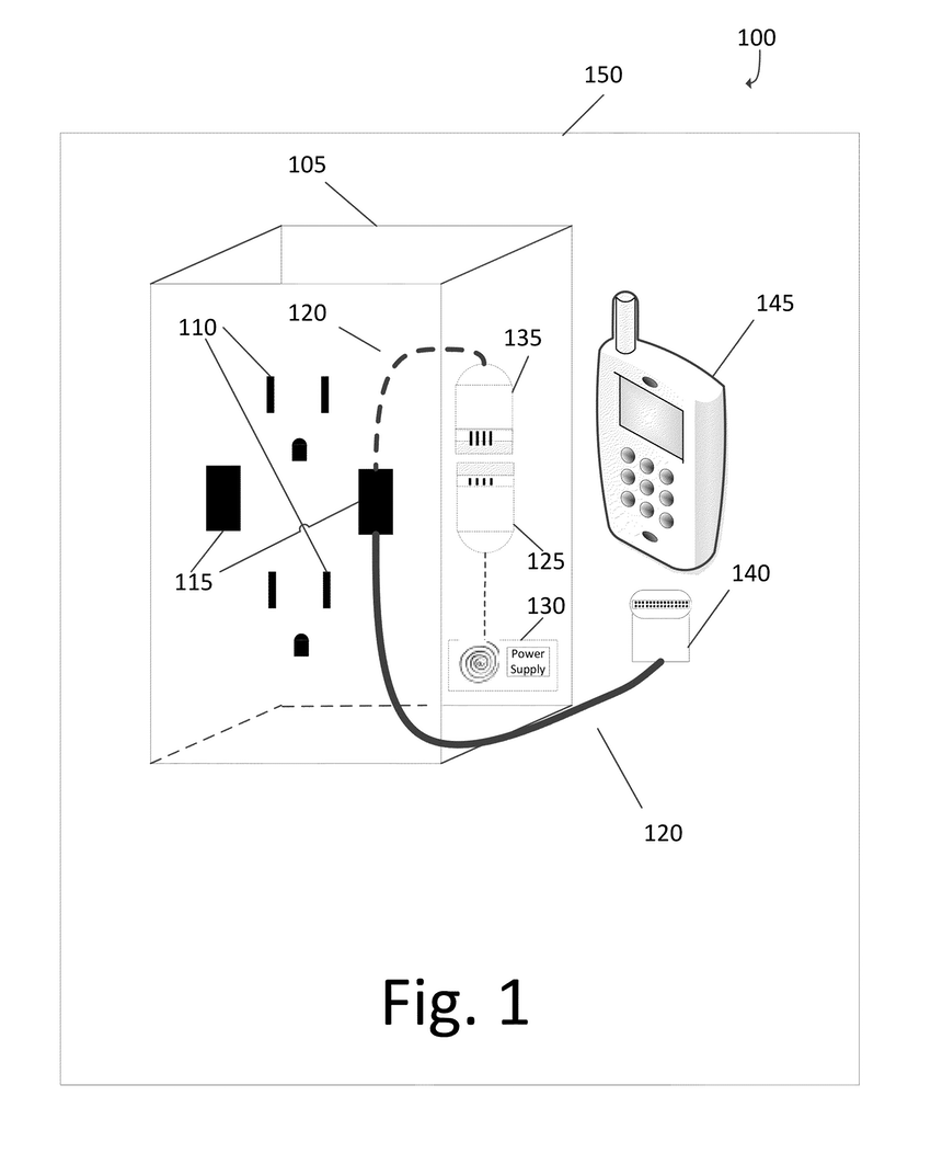 850x1052 patent us6362987 wall mounted electrical outlet receptacle for