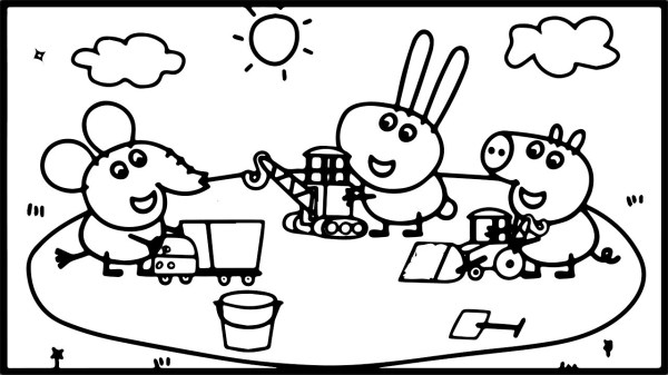 playground coloring pages # 69