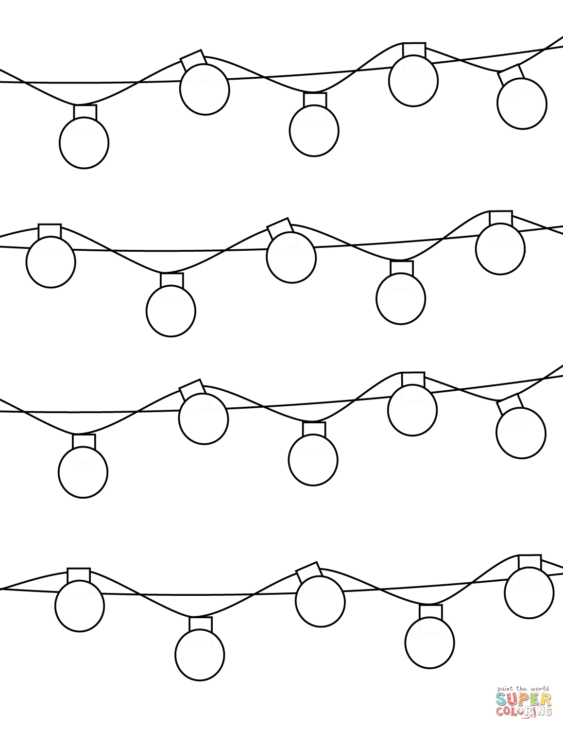 1159x1500 coloring christmas lights christmas lights coloring pages free