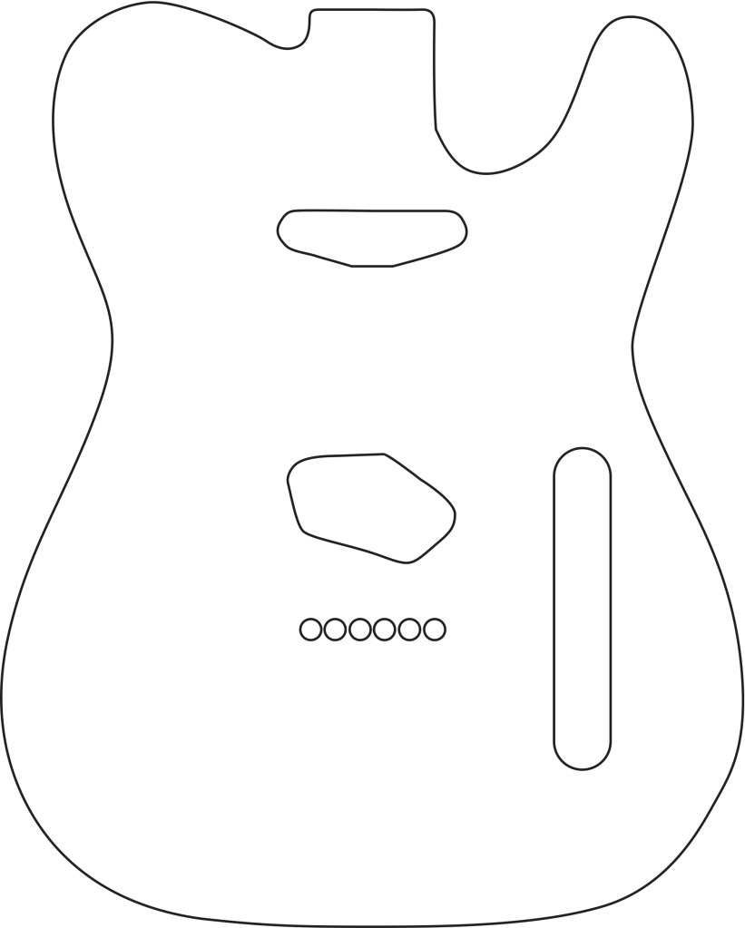 Telecaster drawing at getdrawings free for personal use