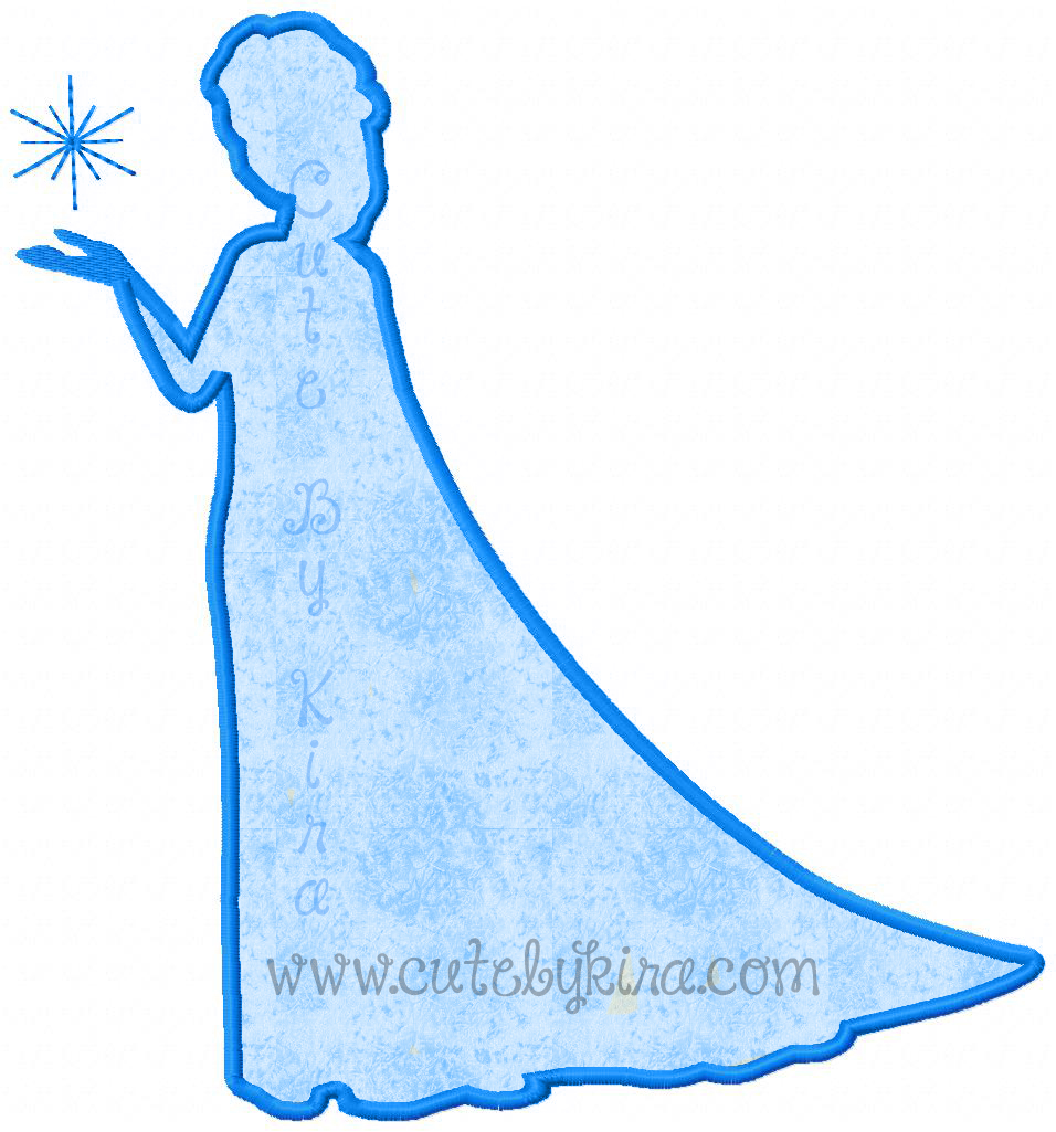 Castle Princess Stencil Pumpkin