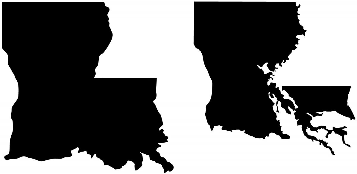 Louisiana Silhouette at GetDrawings.com | Free for ...