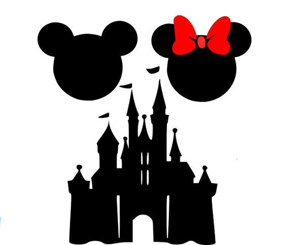 Disney Logo Black And White