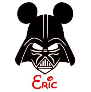Silhouette Of Minnie Mouse at GetDrawings com   Free for personal     413x418 Darth Vader clipart mickey minnie mouse head