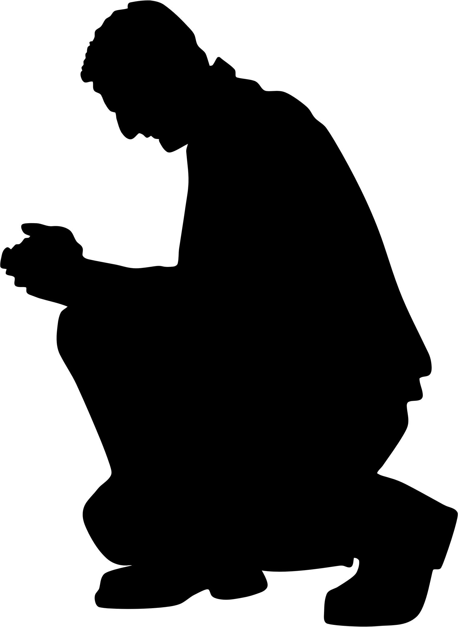 Silhouette Of People Praying at GetDrawings.com | Free for ...