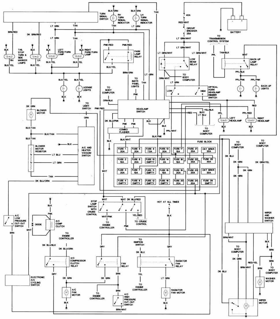970x1102 automotive wiring diagram best of wiring diagrams for club car