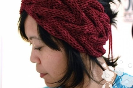 Images Of Knitted Headbands Path Decorations Pictures Full Path