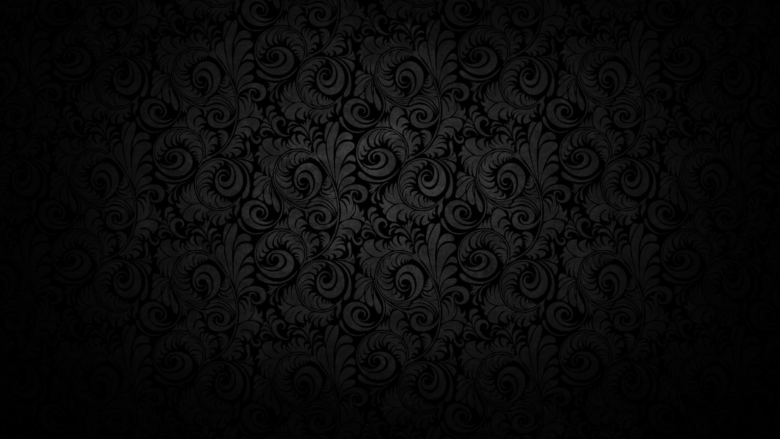 2560x1440 Hd Black Phone Wallpaper
