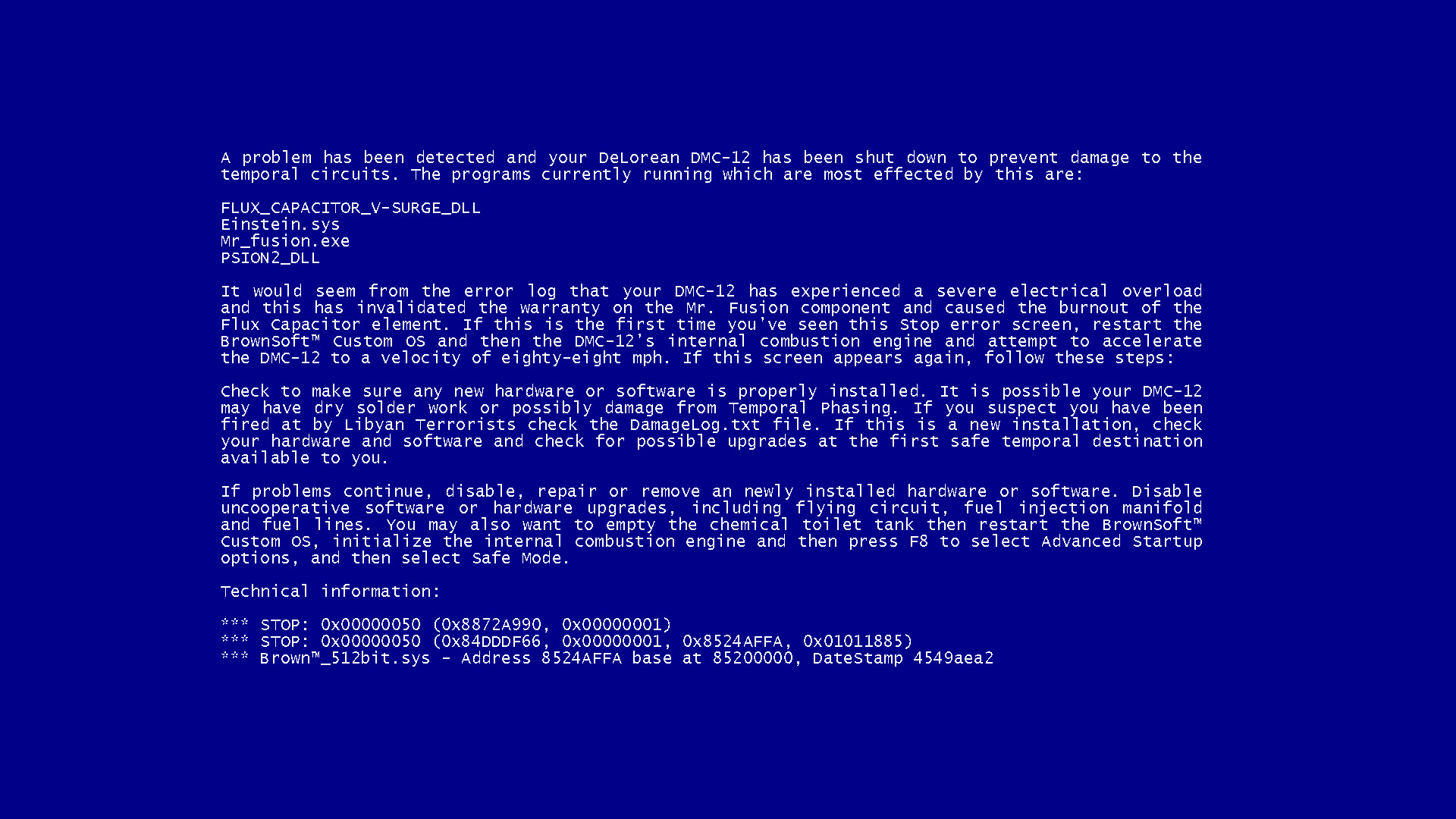 Bsod Windows Wallpaper Desktop Background