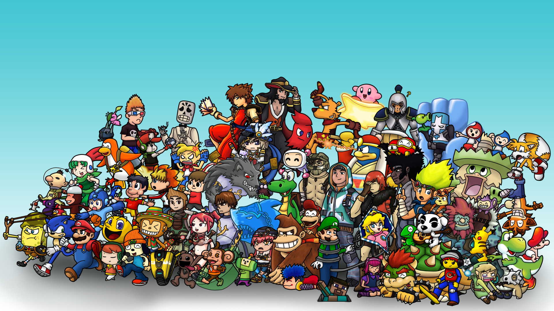 Video Game Wallpaper themes  66  images  1920x1080 video game wallpaper great name by obubblesmansion fan art  wallpaper
