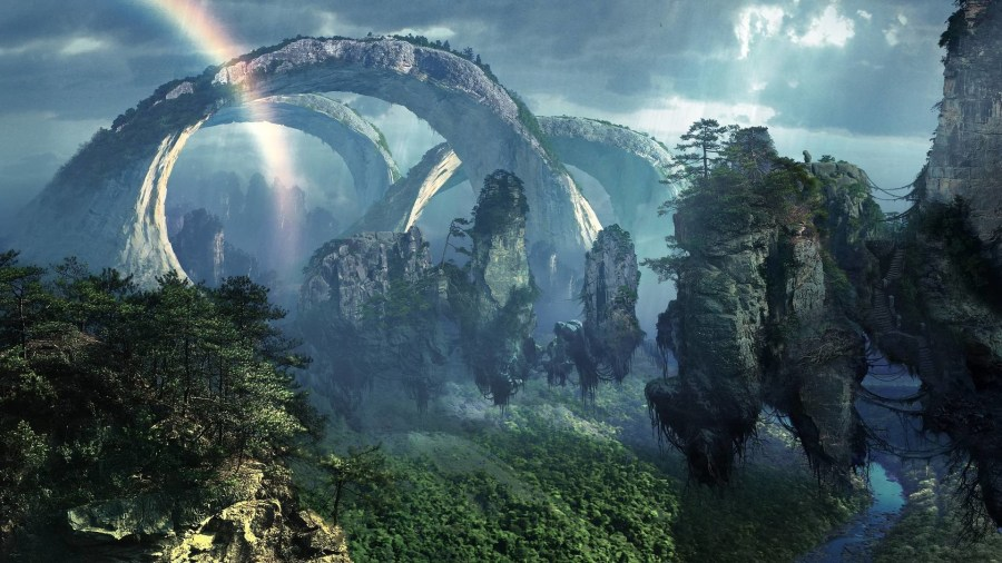 Epic Fantasy Wallpapers  70  images  1920x1080 epic fantasy landscape wallpaper   vergapipe