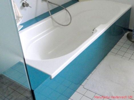 Acrylplatte im Bad & Dusche