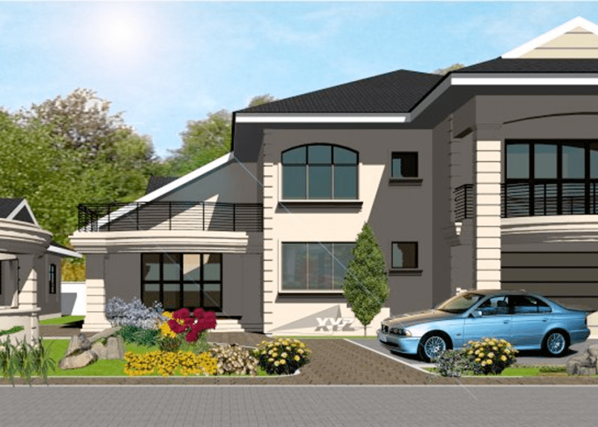 5 Bedroom House Plans for Ghana  Liberia  Sierra Leone   More 5 Bedroom House Plans