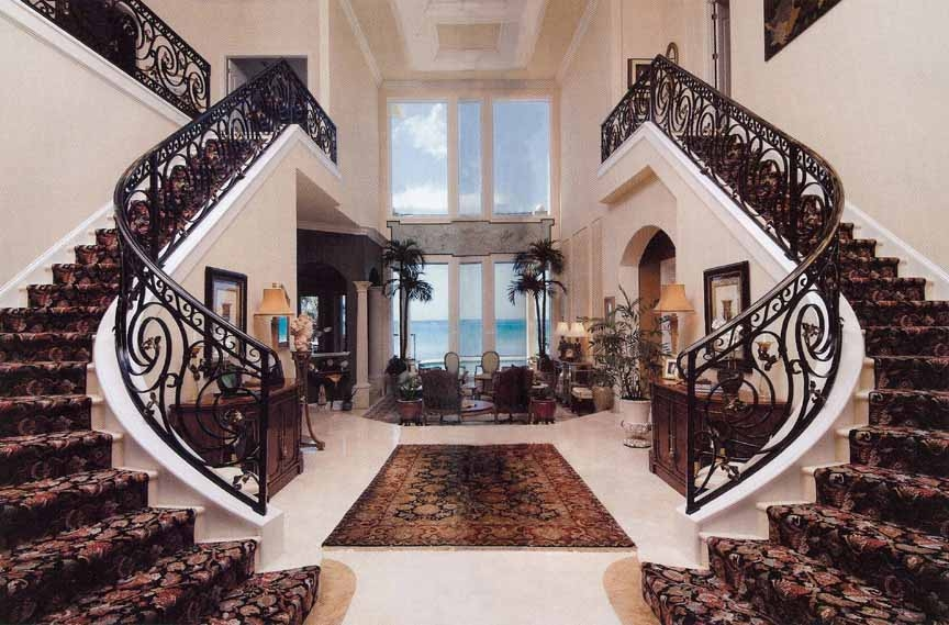Beautiful Staircase Designs Ghar360   Beautiful House Stairs Design   American   Fancy   Simple   Grill   Rich