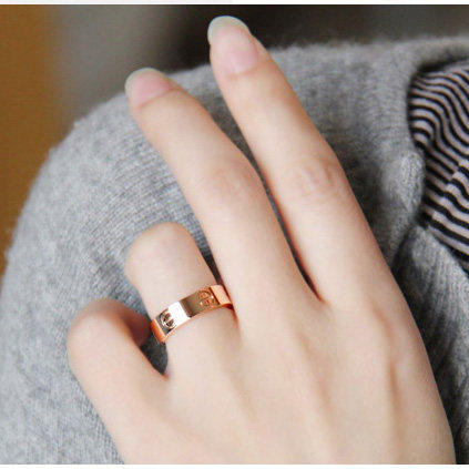 Cheap Cartier Ring Love  find Cartier Ring Love deals on line at     Couples Rings Cartier rose gold ring men love18k style rose gold ring nails  female models