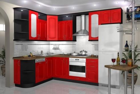 Renkli mutfak seti