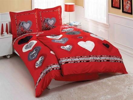 Bed silk linen