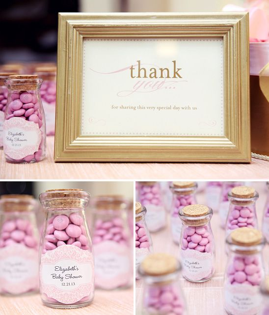 M And M Baby Shower Favors