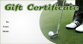 Gift Template   Select a gift certificate template to customize Golf Template 01      Gift Certificate Template Golf 01