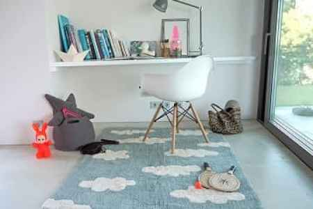 Non Toxic Rugs   Polypropylene Rugs   Gimme the Good Stuff Lorena Canals Clouds Area Rug