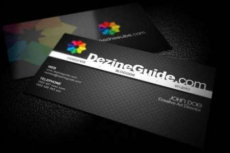 60  Absolutely Free Dark and Black Business Card Templates   Ginva Black Business Card Templates