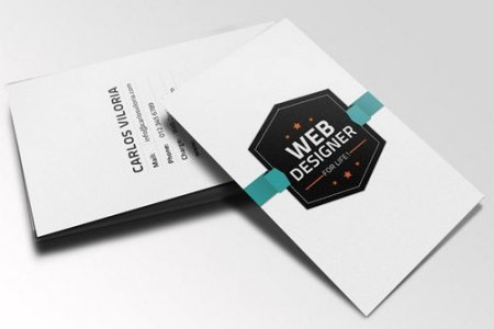44 Free Clean and Simple White Business Card Template in PSD   Ginva Free download  Retro Business Card PSD