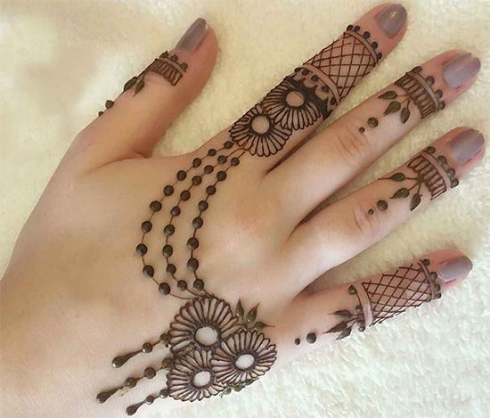 25 Simple & Stylish Arabic Mehendi Designs To Inspire You