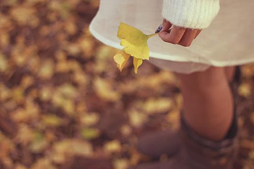 秋の女の子