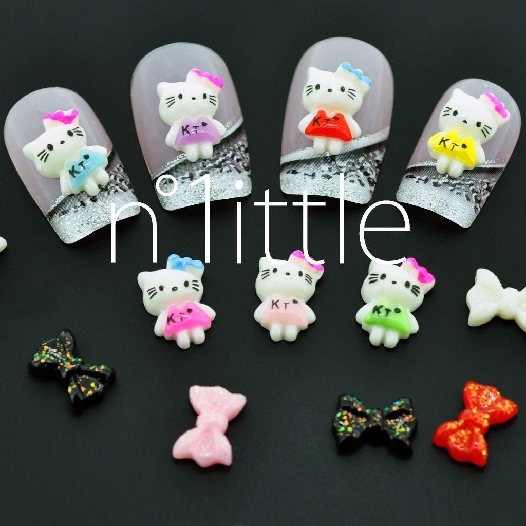 Hello Kitty 3d Nail Art Supplies