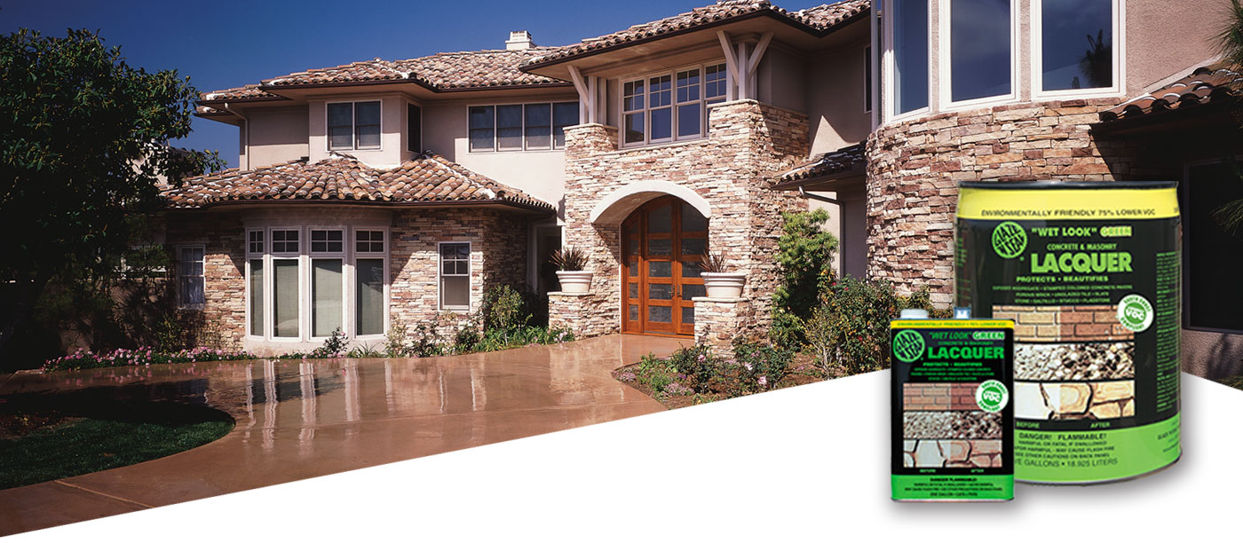 Outdoor Concrete Stain And Seal