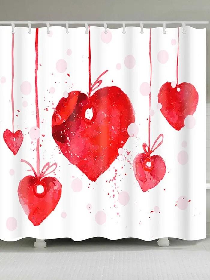 Valentine Shower Curtain