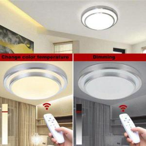 Led Ceiling Lights Change Color Temperature Ceiling Lamp 40W Smart     Led Ceiling Lights Change Color Temperature Ceiling Lamp 40W Smart Remote  Control Dimmable Bedroom Living Room