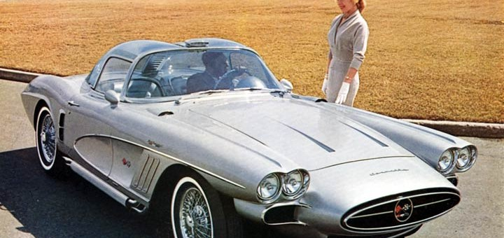 Bill Mitchell S Chariot 1958 Corvette Xp 700 Gm Authority