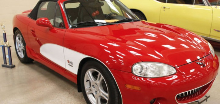 2004 Mazda Miata Corvette Design Gm Authority