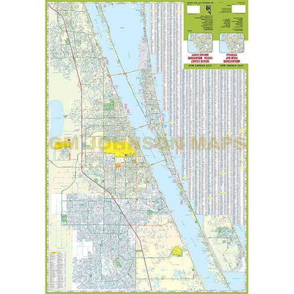 Map Cocoa Fl Village